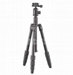 Carbon fiber tube for camera tripods
