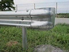 Steel Beam Highway Guardrail