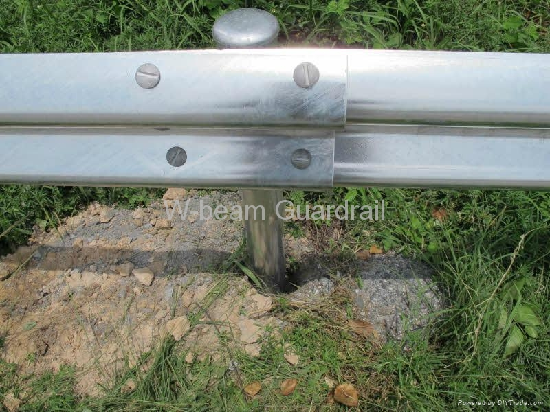 Galvanized Guardrail 2