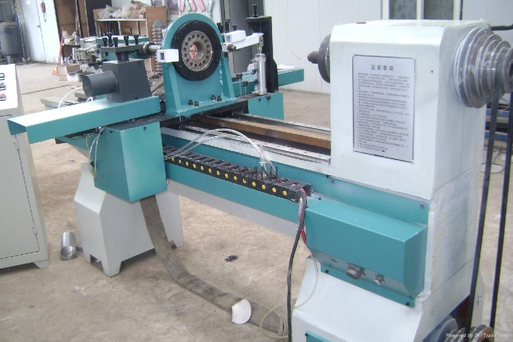 CNC Wood Lathe Machine - OMNI (China) - Engraving & Etching ...