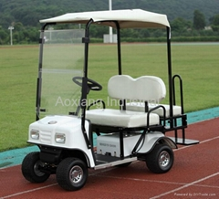Folded style: 4 seater electric golf cart with CE certificate