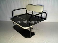 Golf cart parts rear flip seat kits used as rear cargo box