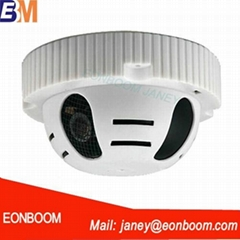 Smoke Detector pinhole Alarm Camera