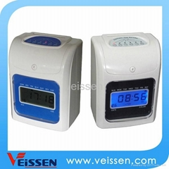 Veissen time recorder/punch card clock