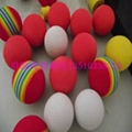 七彩EVA玩具球 1