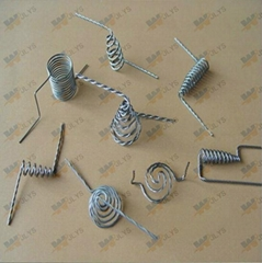 Stranded tungsten wire for vanuum coating