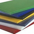 Highly abrasion resistant board