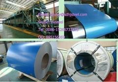 PPGI steel coils or prepainted galvanized steel coils