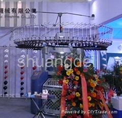 double jacquard circular knitting machine