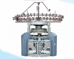 twin size circular knitting machine