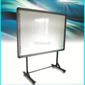 Riotouch dual touch infrared interactive drawing board for smart class 2