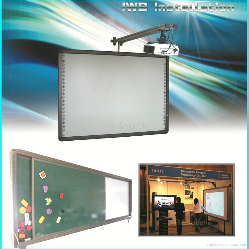 Riotouch dual touch infrared interactive drawing board for smart class 4