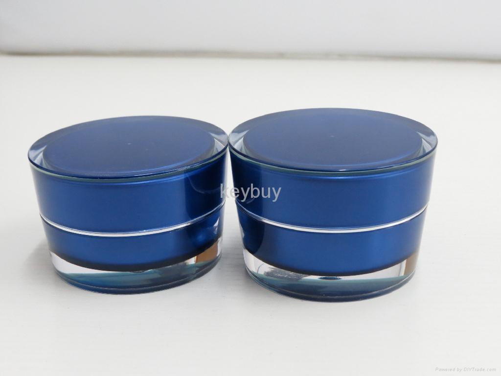 Acrylic Cream Jar 2