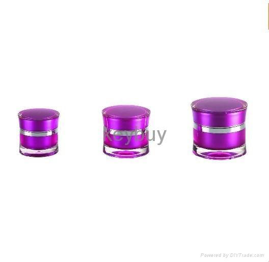 Acrylic Cream Jar 5