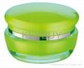 Mushroom acrylic cream cosmetic jar  3