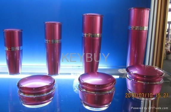 Mushroom acrylic cream cosmetic jar  4