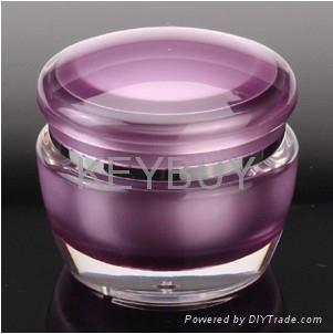 Mushroom acrylic cream cosmetic jar  5