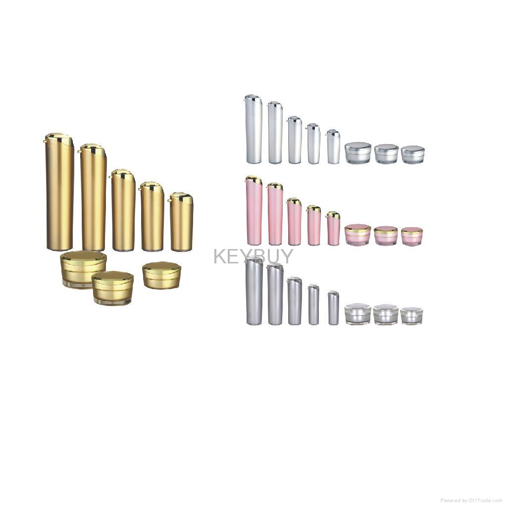 Acrylic Airless Cosmetics Lotion Bottle  2