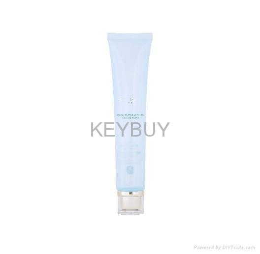 cosmetic plastic soft tube/cosmetic plastic pe tube/ cosmetic soft plastic tube  3