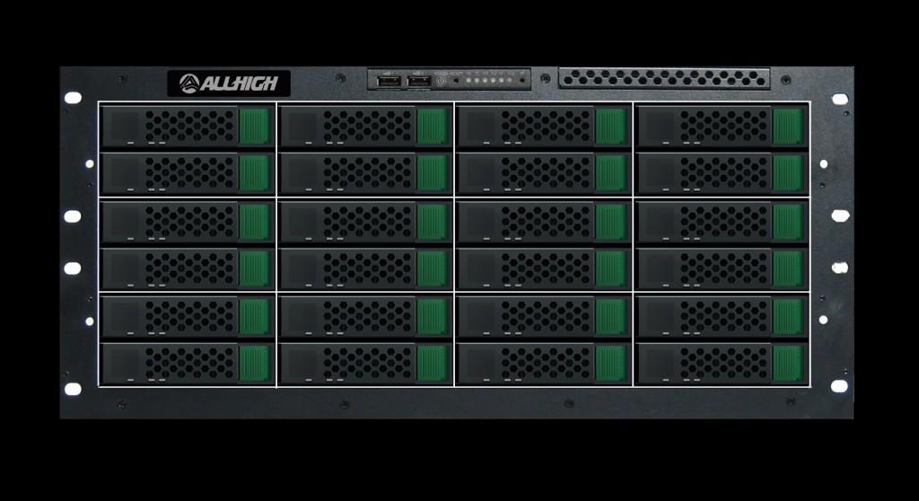 16盤位雙控制器存儲 1