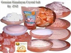 Himalayan Organic Crystal Salt 100% Food