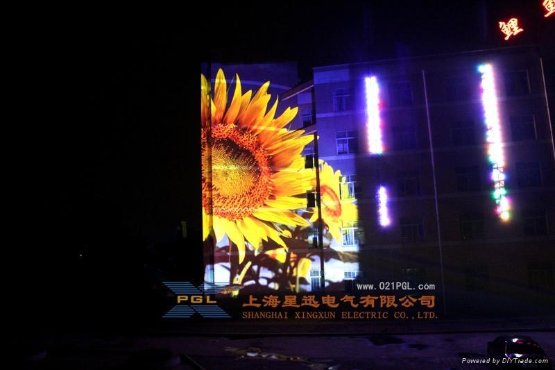 巨幅廣告投影機 戶外廣告投影機 1