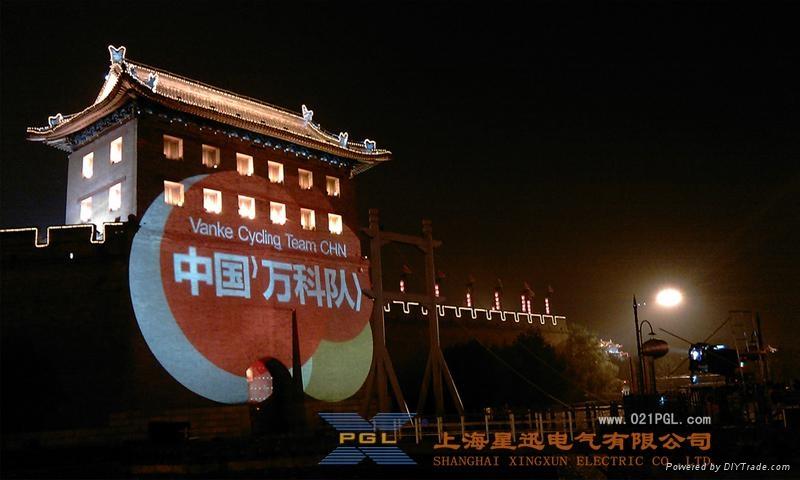 巨幅廣告投影機 戶外廣告投影機 PG投影機 4