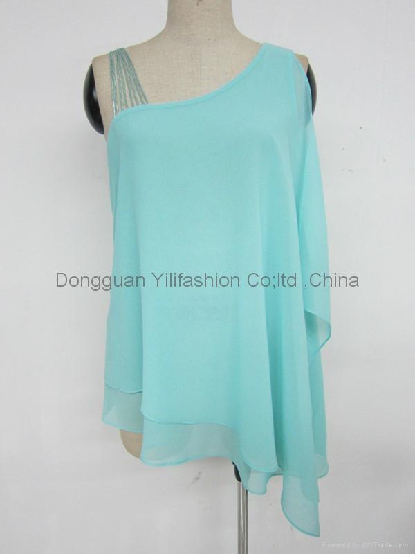 Ladies fashion hot selling blouse  1