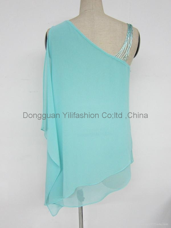 Ladies fashion hot selling blouse  3