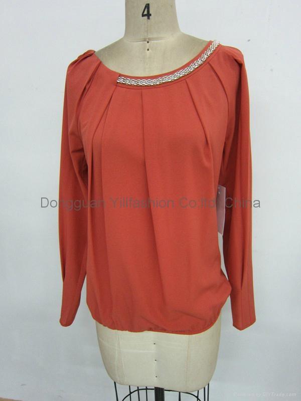 Ladies new design fashion tops - YlN0004 - YL (China Manufacturer ...