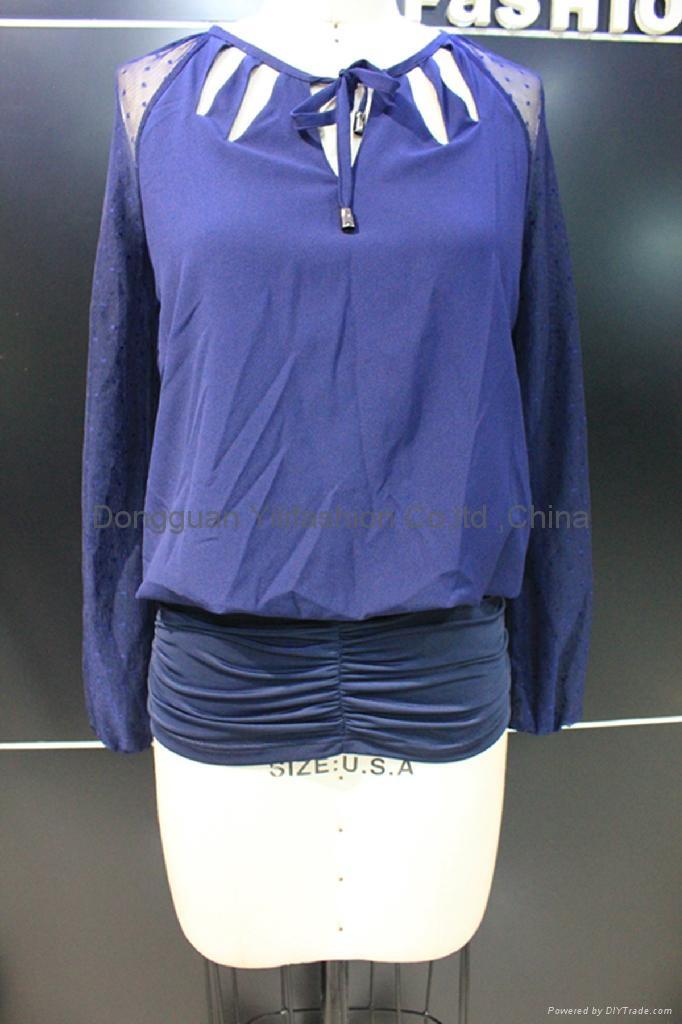 beautiful ladies fashion blouse 1