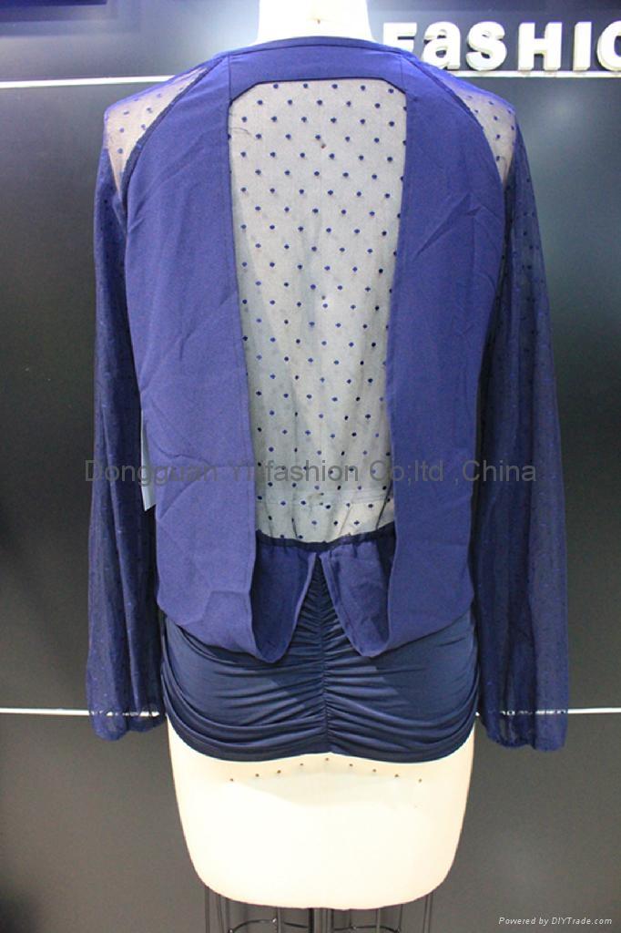 beautiful ladies fashion blouse 2