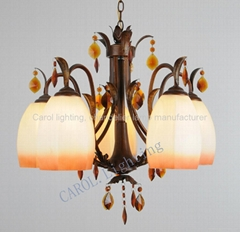 9845/5 European antique chandeliers