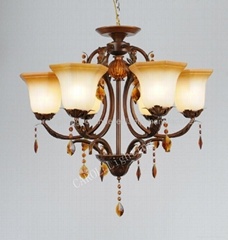 9853/6 European antique chandeliers