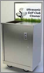 高爾夫球桿清洗機 1