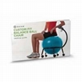 2012 fashionable fitness ball chair