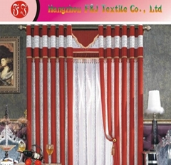 Jacquard curtain fabric FJ-01