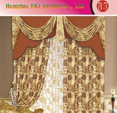 Jacquard curtain fabric FJ-02