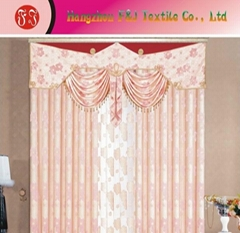 Jacquard curtain fabric FJ-03