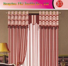 Jacquard curtain fabric FJ-04