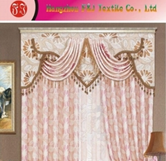 Jacquard curtain fabric FJ-05