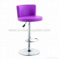 swivel chrome adjustable bar stool 3223
