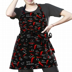 Kitchen Cotton Adjustable Kitchen Apron