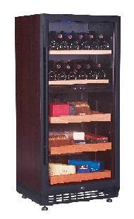 北京鑫鸿比士亚酒柜雪茄柜一体机 1