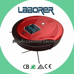 robot vacuum cleaner with big dustbin and battery capacity