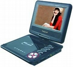 "new 7"" portable DVD player with all function"
