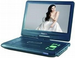 "new 11"" portable DVD player with all function"