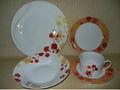 20 pcs porcelain round shape dinnerware set 2