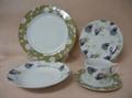 20 pcs porcelain round shape dinnerware set 3