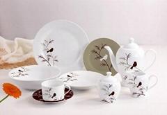 20/30 pcs porcelain round shape dinnerware set
